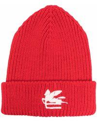 Etro Шапка Бини С Нашивкой-логотипом - Красный