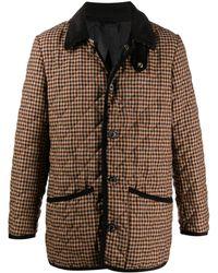 Mackintosh チェック ジャケット - ブラウン