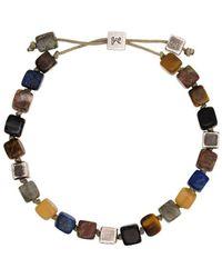 M. Cohen Bracelet en perles - Multicolore