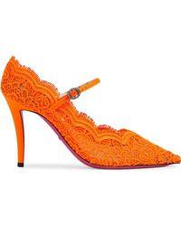 6f707b0cb Gucci - Zapatos de tacón Virginia 95 - Lyst