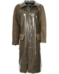 Undercover - Buttoned Up Trenchcoat - Lyst