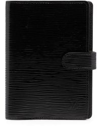 Louis Vuitton 2009 Pre-owned Agenda Pm Notebook Cover - Black