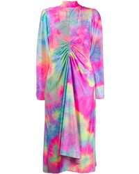 Sies Marjan プリント ドレス - ピンク