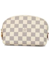 Louis Vuitton Pre-owned Damier makeup pouch - Weiß