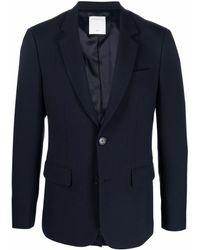 Sandro シングルジャケット - ブルー