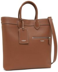 Burberry Classic Tote Bag - Brown
