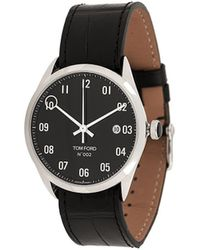 Tom Ford Watches Rond Horloge - Zwart