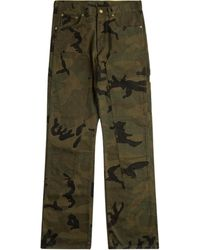 Supreme X Louis Vuitton Dungaree Trousers - Green