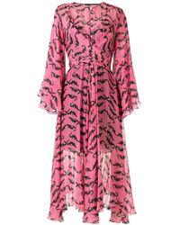 EVA Jacaré ドレス - レッド