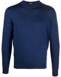Drumohr ファインニット セーター - ブルー