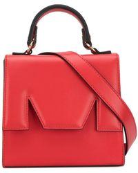 MSGM M Belt Bag - Red