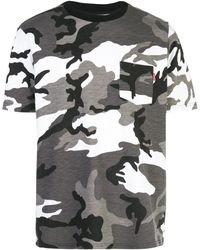 Supreme - カモフラージュ Tシャツ - Lyst