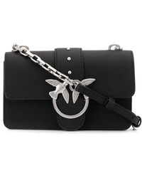 Pinko Shoulder Clutch Bag - Black
