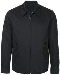 Gieves & Hawkes - Lightweight Zip Jacket - Lyst