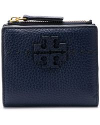 Tory Burch - Embossed Logo Wallet - Lyst