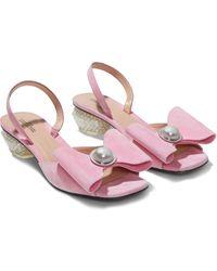 Marc Jacobs The Paris Sandals - Pink