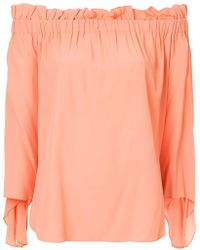 Erika Cavallini Semi Couture - Off Shoulder Blouse - Lyst
