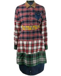DSquared² - パッチワーク プリントシャツ - Lyst