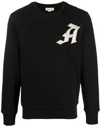 Alexander McQueen ロゴ Tシャツ - ブラック