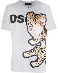 DSquared² - T-shirt à imprimé graphique - Lyst