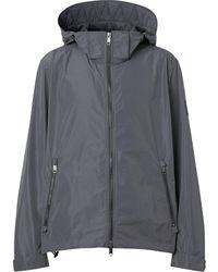 Burberry Packaway Lightweight Jacket - Gray