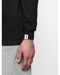 Mackintosh ボーダー スウェットシャツ - ブラック