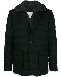 Moncler Hooded Padded Blazer - Черный