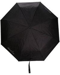 Richard Quinn Parapluie à logo signature - Noir
