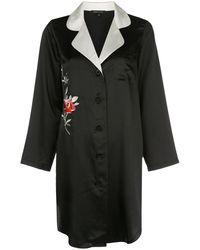 Morgan Lane Jillian ナイトシャツ - ブラック