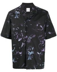 Paul Smith - Floral Print Short-sleeved Shirt - Lyst