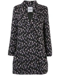 Si-jay - Floral Button Up Coat - Lyst