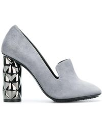 Luis Onofre - Embellished Heel Court Shoes - Lyst