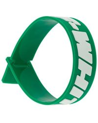 Off-White c/o Virgil Abloh Industrial Rubber Wristband - Green