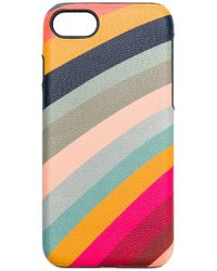 Paul Smith Black Label - 'Rainbow' iPhone 8-Hülle - Lyst