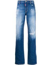DSquared² Dalma Angel Jeans - Blue
