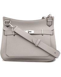 Hermès Sac porté épaule Jypsiere 31 pre-owned (2013) - Blanc
