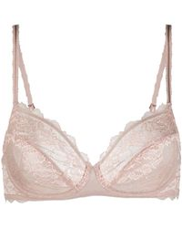 Wacoal Lace Perfection Underwired Bra - Pink