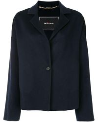 Kiton Single-breasted Jacket - Blue