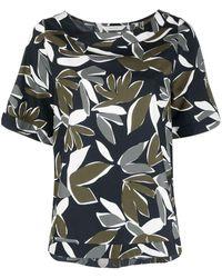 Xacus - Блузка С Цветочным Принтом - Lyst