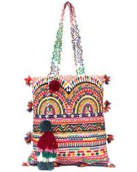 Figue - Multi-print Tassel Tote Bag - Lyst