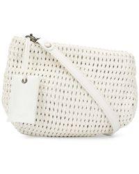 Marsèll Woven Shoulder Bag - White