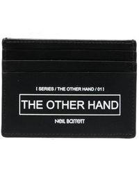 Neil Barrett The Other Hand カードケース - ブラック