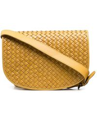 Officine Creative Oc Class Woven Crossbody Bag - Yellow