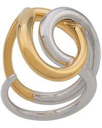 Charlotte Chesnais Ring - Metallic