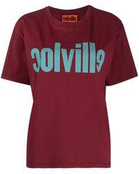 Colville Футболка С Логотипом - Красный