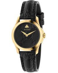 Gucci Montre G-Timeless 27mm - Noir