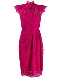 Dolce & Gabbana Jurk Van Kant - Roze