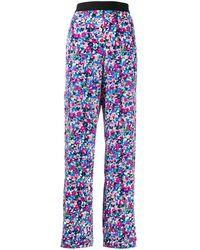 Karl Lagerfeld - Pantaloni a fiori - Lyst
