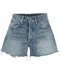 Polo Ralph Lauren Cut-off Shorts - Blauw