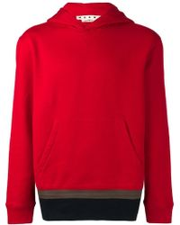 Marni - Patched Hem Hoodie - Lyst